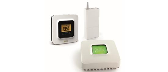 Thermostat radio connecté pour pompe à chaleur