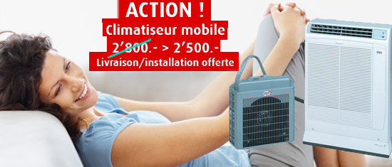 Action climatisation mobile