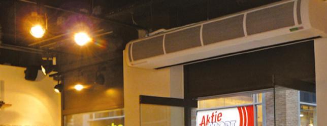 Nouveau : Les rideaux d'air