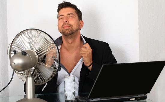 Trop chaud pour travailler ?