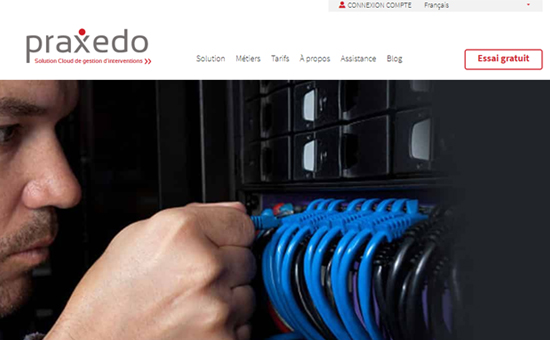 Maintenance par Ordinateur Praxedo