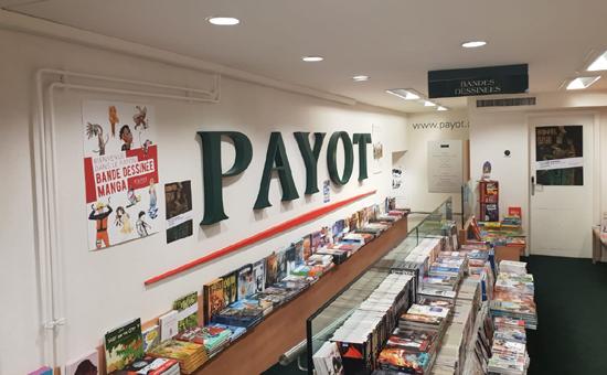Assainissement des librairies Payot