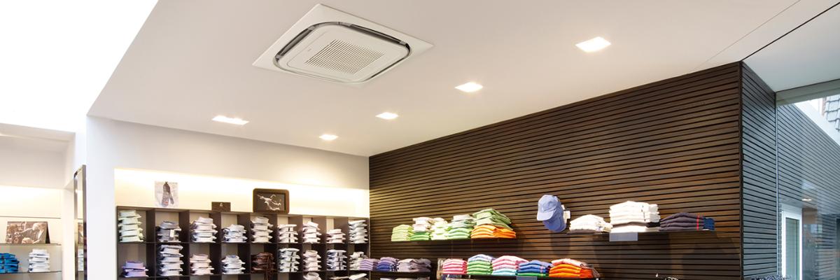 Climatisation Daikin commerces et tertiaire