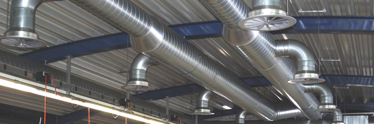 Système de ventilation pour l'industrie