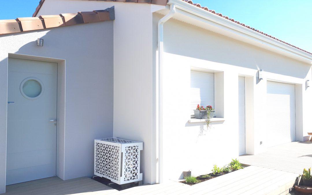 Nouvelle gamme de caches climatiseurs et pompes à chaleur