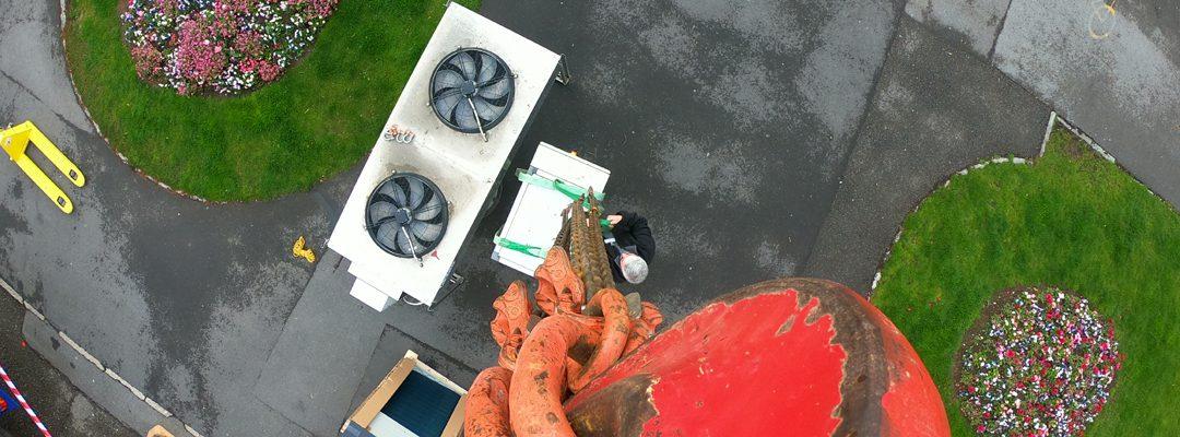 Maintenance climatisation ventilation chauffage Neuchâtel - Banque Bonhone