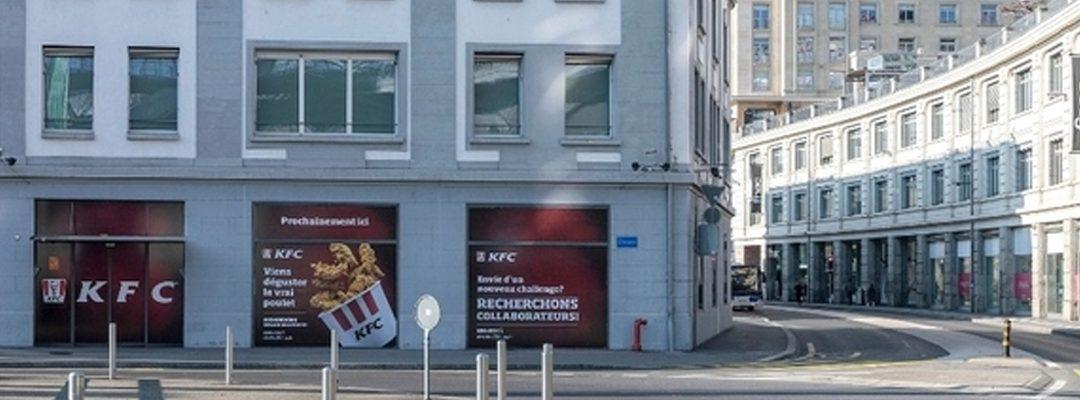 Le retour de KFC en Suisse s'effectue avec Swiss-Calorie SA !