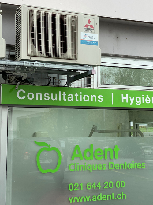 climatisation dentaire Groupe Adent