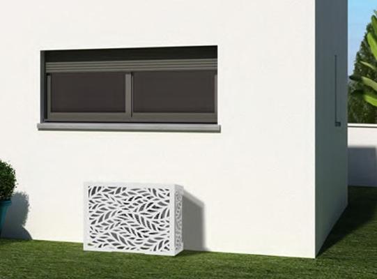 Cache climatiseur : embellissez votre maison et votre jardin !